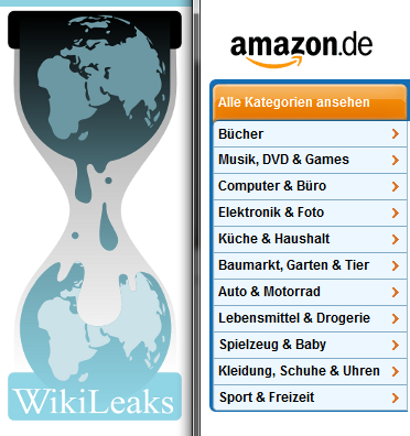 Wikileaks und Amazon