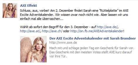 Rüttelplatte und Axe Effekt bei Facebook