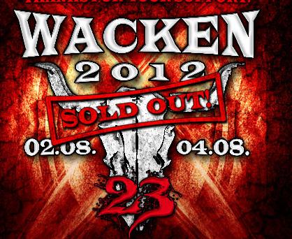 Wacken 2012 Ausverkauft