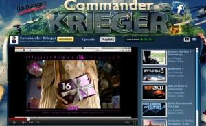 Axe Adventskalender Voting Aufruf bei Youtube von CommanderKrieger