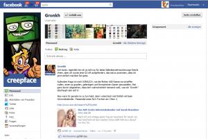 Gronkh bei Facebook
