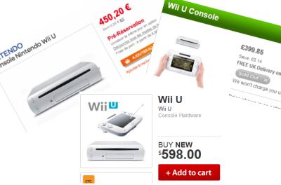 Wii-U-Preise