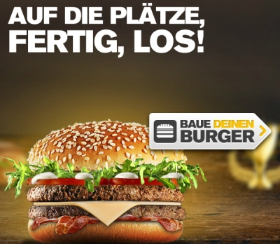 Mc Donald´s Mein Burger 2012  Bild © Mc Donald´s Deutschland