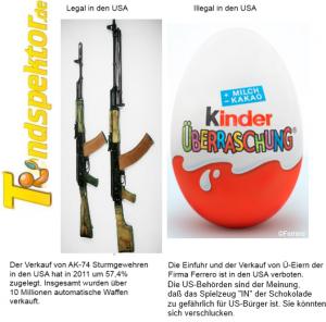 Überraschungseier in den USA verboten 300x296 Wunderland USA   AK 74 Verkäufe um 57% rauf   Überraschungseier weiterhin verboten