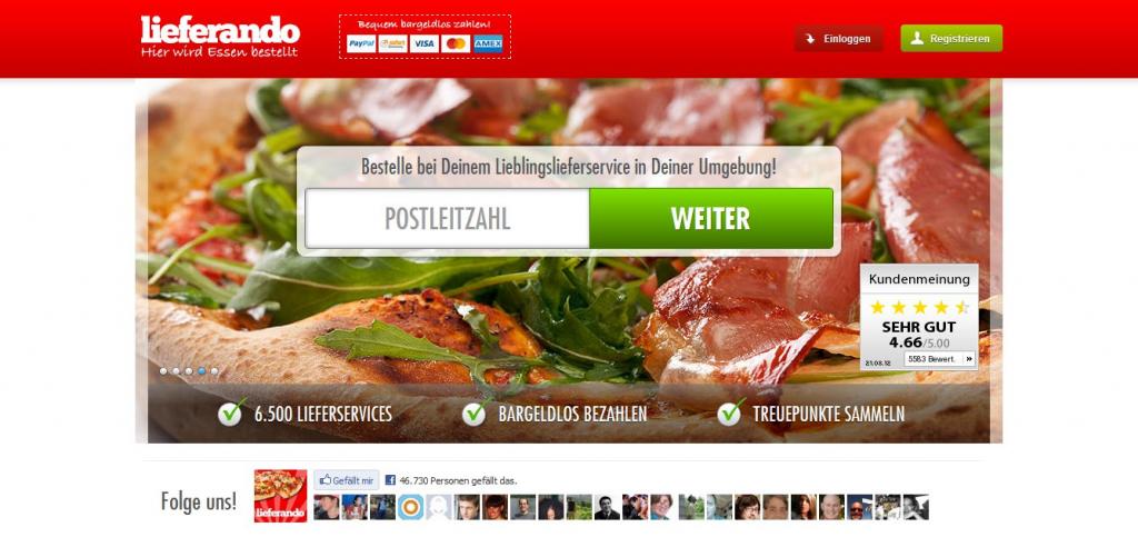 startseite pizza 1 1024x492 Online Pizza Shopping bei Lieferando